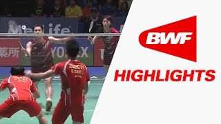 Yonex Japan Open 2016 | Badminton F – Highlights