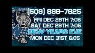 Wenatchee Wild Commercial Dec. 28, 29, 31, 2012