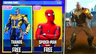 *NEW* How To Get *THANOS* Skin FREE in Fortnite Battle Royale