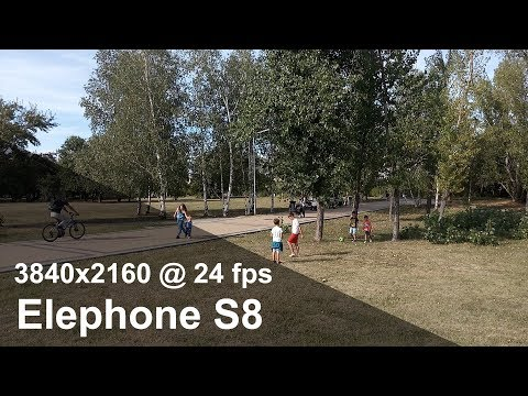 Elephone S8 - 4K (2160p) camera video sample. FULL REVIEW in 10 pages! (link)