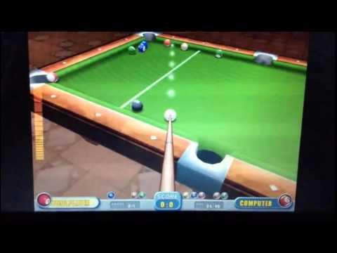 GamesTop.com - Real Pool (against computer)