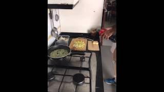 AZ CHEF!! Ravioli con foei, Camembert y roquefort!!! Receta PMEL!!