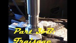 Fabrication moteur à vapeur Part 3B (fraisage)