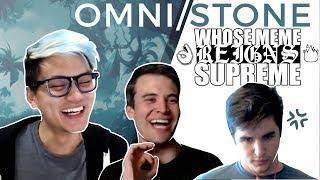 Whose Meme Reigns Supreme? Omni/Stone game #2 w/ Brian Kibler, Firebat & Frodan