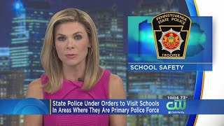 State Police Ordered To Visit Schools, Colleges Every Shift Where They Are Primary Police Force