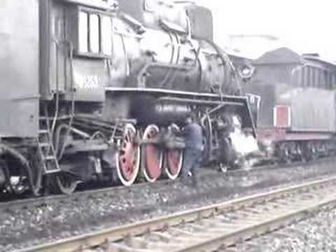 Steam Engine in Pingdingshan China 5