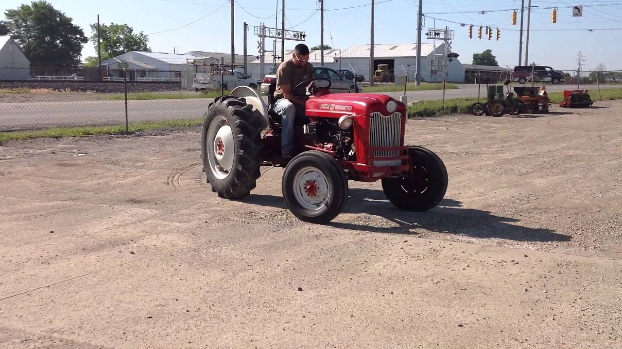 64 Ford 601 Tractor : Ford workmaster tractor engine diagram