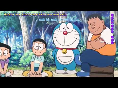 Doraemon: Nobita and the New Steel Troops—Winged Angels Full Song in Japanese