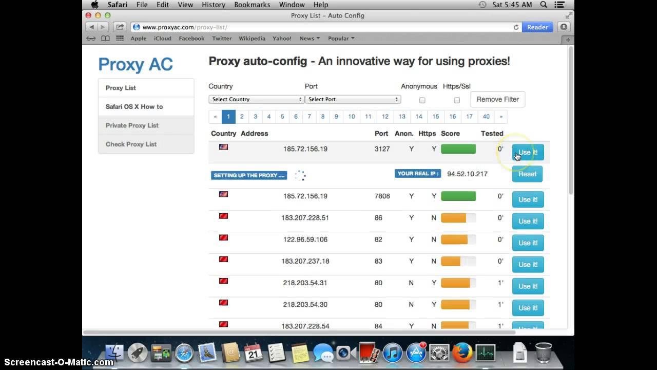 United States Proxy Server List - American Proxies - ProxyNova