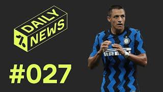 Alexis Sanchez bleibt bei Inter! Verlängert Stambouli doch bei Schalke? Union-Augsburg Keepertausch!