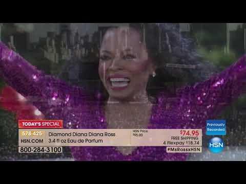 HSN | Diana Ross Fragrance Premiere 12.05.2017 - 08 AM