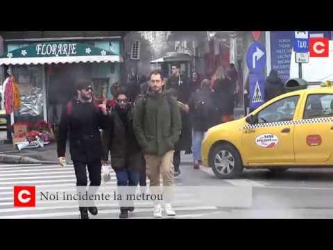 Noi incidente la metrou