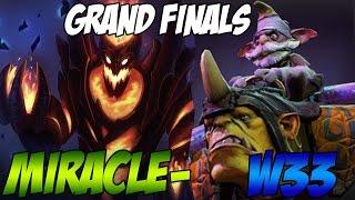 Dota 2 - Miracle- SF vs w33 Alch - Grand Finals Major $1,110,000 - Team Secret vs OG Game 4 !