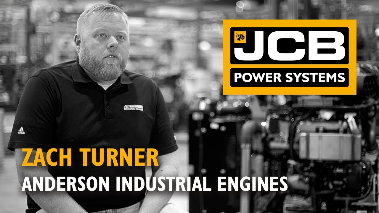 JCB Power Systems Engine Distributor Stories - Anderson Industrial Engines