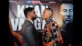 Amir Khan vs. Samuel Vargas Today Boxing Player Fight Match Highlights