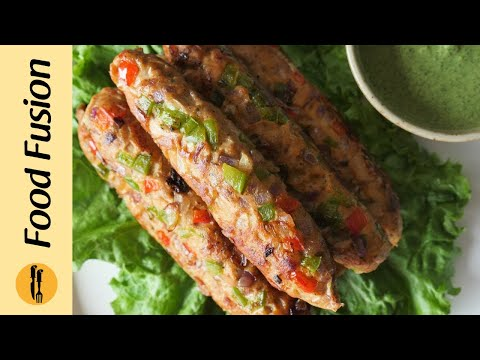 Gilafi Kabab Recipe By Food Fusion Lunch Videos