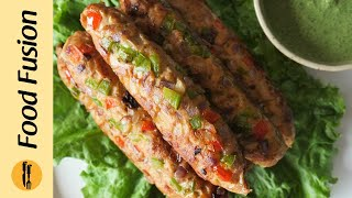 Gilafi Kabab Recipe By Food Fusion