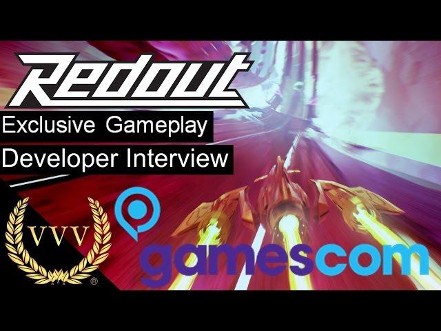 Redout - Exclusive Gameplay - Gamescom 2016
