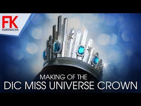DIY Crown - Miss Universe Crown (DIC)