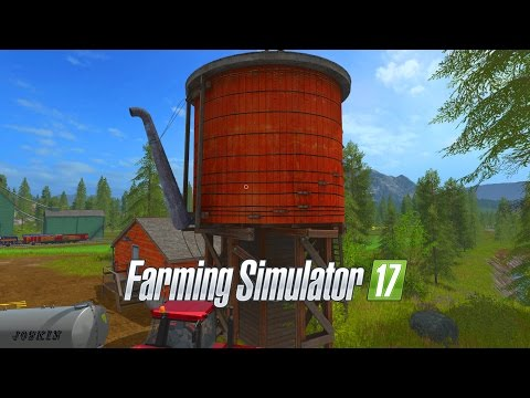 Farming Simulator 17 - E23 - Water Tower | Gameplay | Let's Play
