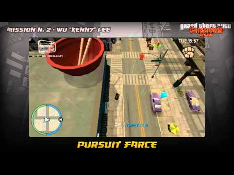 GTA Chinatown Wars - Walkthrough - Mission #2 - Pursuit Farce