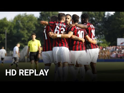 FC LUGANO 0-4 AC MILAN - Full Friendly Games - Match 11/7/2017 | MilanActu [HD]