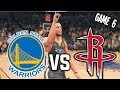 Golden State Warriors vs Houston Rockets GAME 6 HYPE - Nba live 18