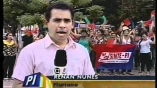 greve dos professores em floriano pi