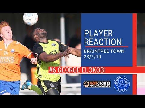 ShotsTV - George Elokobi Reacts To Braintree Victory