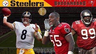 Former Insurance Salesman Outshines the Bucs' Defense! (Steelers vs. Buccaneers, 2002)   NFL Vault