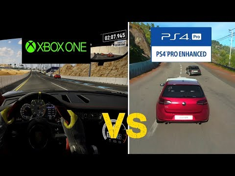 Forza Motorsport 7 (Xbox One) Vs Driveclub (PS4)