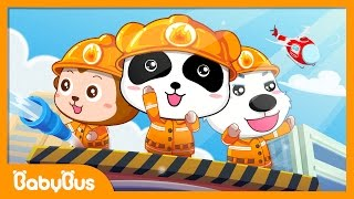 ❤ Little Firefighter Song | Nursery Rhymes | Kids Songs | BabyBus