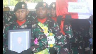 Download Dilepas Panglima TNI, Pangkat Serda Handoko Naik jadi Sertu Anumerta Mp3 and Videos