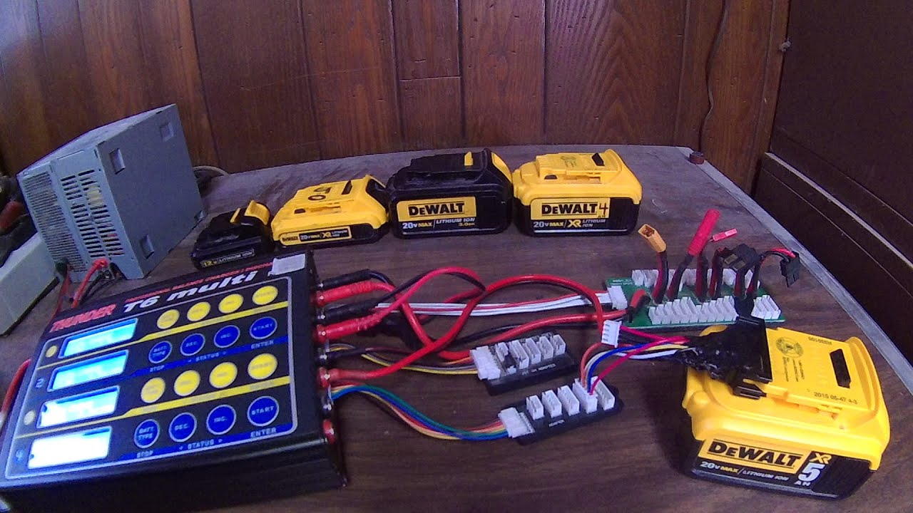 Dewalt 12v 20v Max Battery Custom Charging Doovi