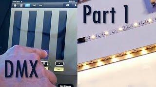 ipad lighting control by dmx artnet part 1