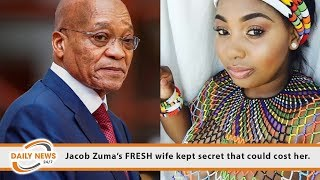 Jacob Zuma's FRESH wife kept secret that could cost her.