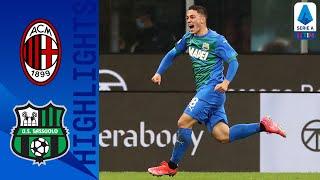 Milan 1-2 Sassuolo | Il Sassuolo ribalta la partita contro il Milan | Serie A TIM