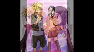 Sarada Uchiha y Bolt Uzumaki - Funny little wordl