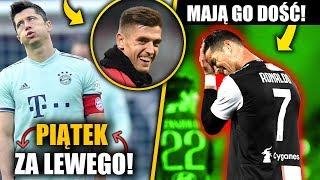 RONALDO PROBLEMEM w Juventusie! Piątek zagra w Bayernie! Lewandowski z konkurencją!