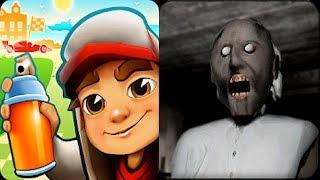 - Subway Surfers vs Granny Horror Escape Game