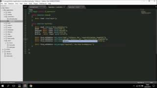 Codeigniter Dersleri 4- Model Oluşturma, Veritabanı Ayarları, Üye Kayıt&Giriş Sistemi