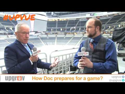How Doc Emrick Prepares For An NHL On NBC Game