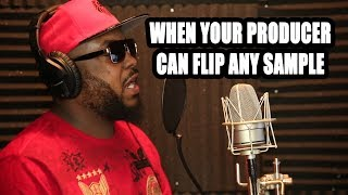 WHEN YOUR PRODUCER CAN FLIP ANY SAMPLE [StateFarm beat in description]