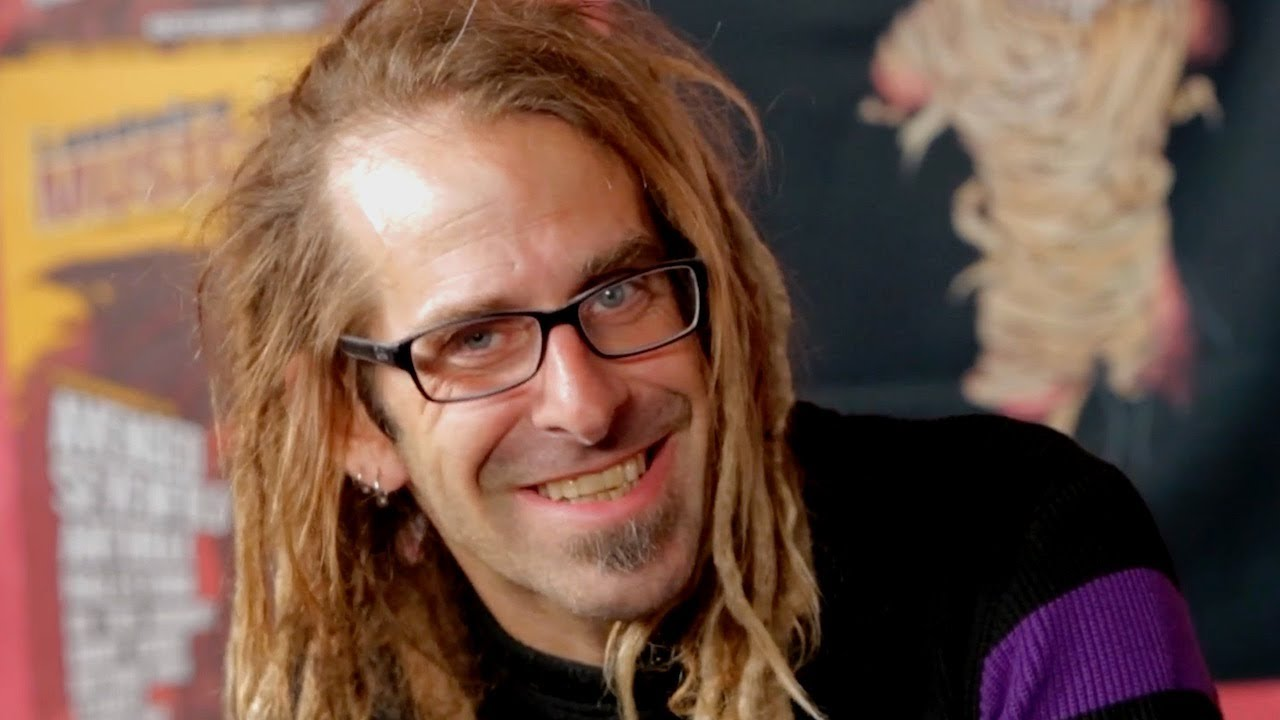 The 49-year old son of father (?) and mother(?) Randy Blythe in 2020 photo. Randy Blythe earned a  million dollar salary - leaving the net worth at  million in 2020
