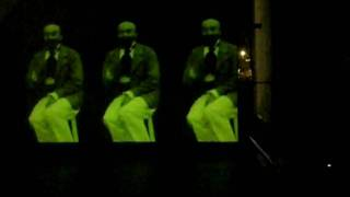 Experimental Live Set & Live Cinema  Steve Lorenz & Irwinrice Kiss   @ Art Gallery GERRA Reggio Emilia part 4