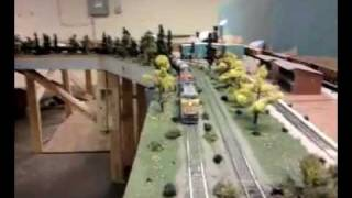 Tank Car Train At Waynesborough Model Railroad Club
