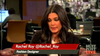 Repeat youtube video Rachel Roy Discusses her Fall 2013 Runway Show on Huffington Post Live