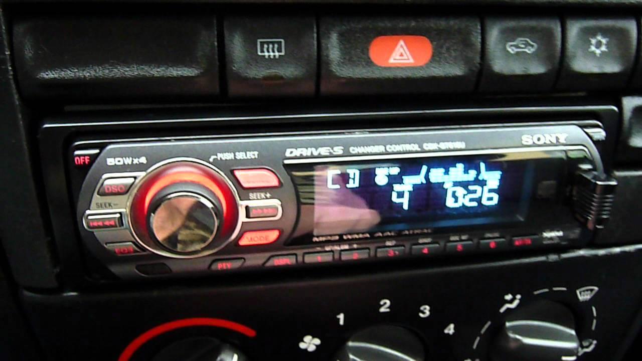 hight resolution of car audio sony cdx gt616u hd video deejay exide