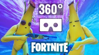 [360° video] Fortnite Banana skin Peely VR Box Virtual Reality Google Cardboard
