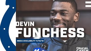 Devin Funchess Excited To Get Back On The Field
